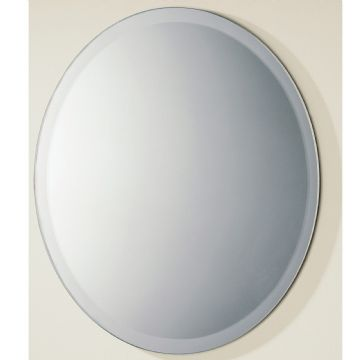 HiB Rondo Circular Mirror With Wide Bevelled Edge Ø50cm 61504000
